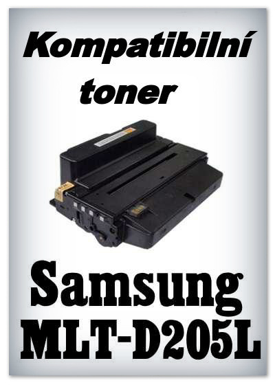 Kompatibilní toner Samsung MLT-D205L - black