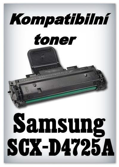 Kompatibilní toner Samsung SCX-D4725A - black