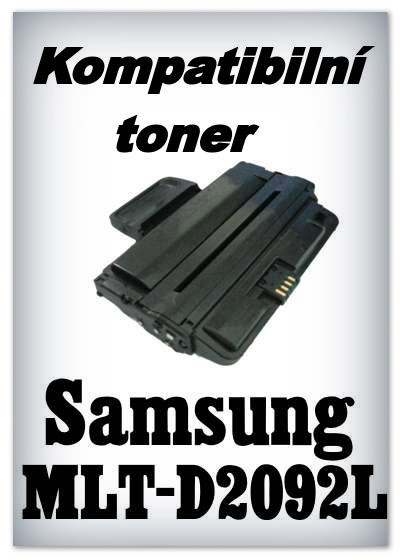 Kompatibilní toner Samsung MLT-D2092L - black