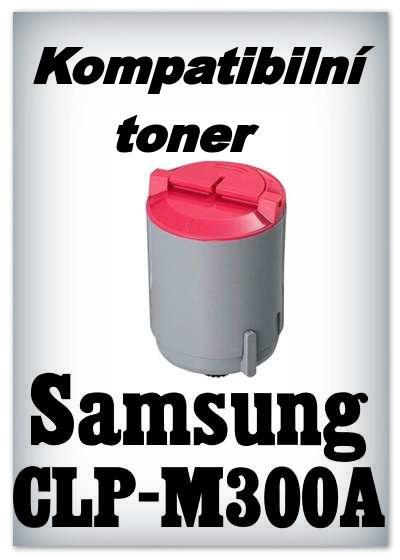Kompatibilní toner Samsung CLP-M300A - magenta