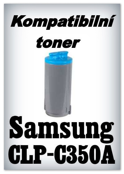 Kompatibilní toner Samsung CLP-C350A - cyan