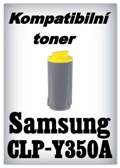 Kompatibilní toner Samsung CLP-Y350A - yellow