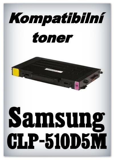 Kompatibilní toner Samsung CLP-510D5M - magenta