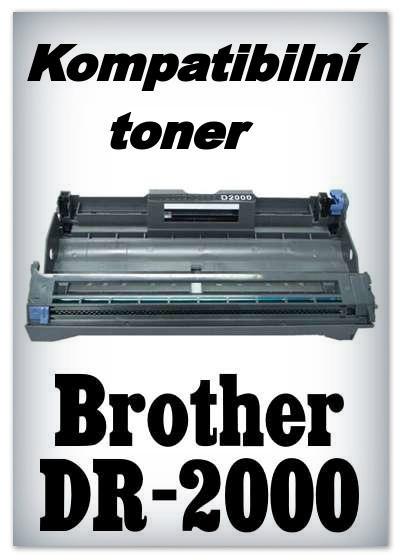 Kompatibilní toner - fotoválec - Brother DR-2000