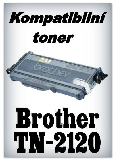 Kompatibilní toner Brother TN-2120 - black