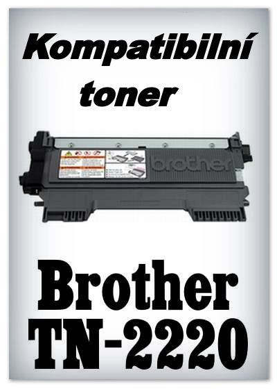 Kompatibilní toner Brother TN-2220 - black