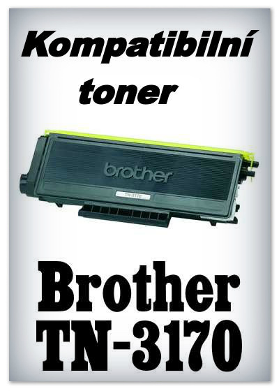 Kompatibilní toner Brother TN-3170 - black
