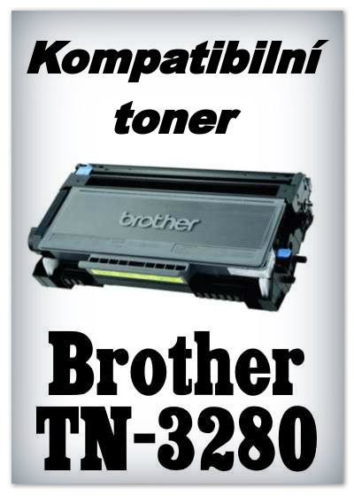 Kompatibilní toner Brother TN-3280 - black