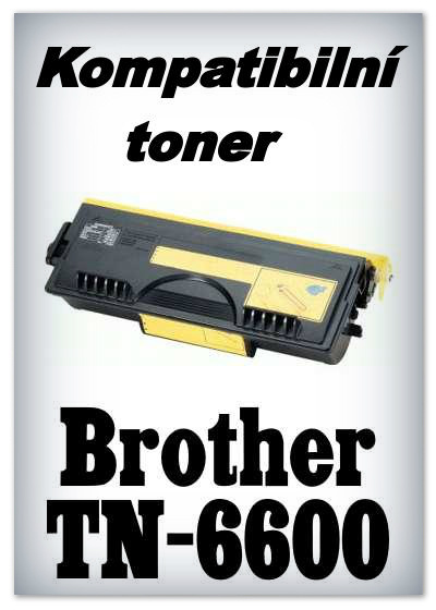 Kompatibilní toner Brother TN-6600 - black