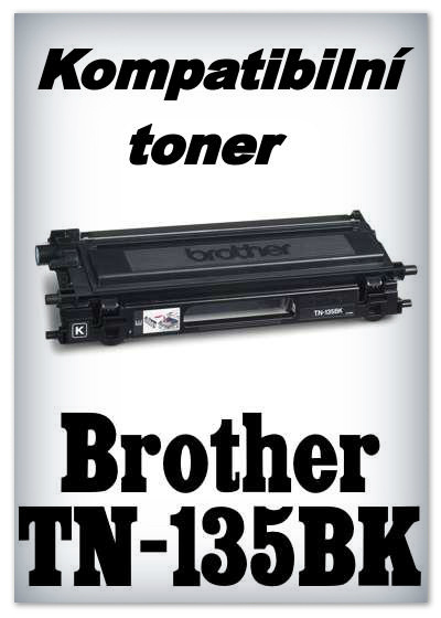 Kompatibilní toner Brother TN-135BK - black