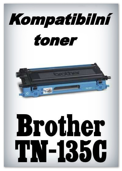 Kompatibilní toner Brother TN-135C - cyan