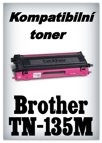 Kompatibilní toner Brother TN-135M - magenta