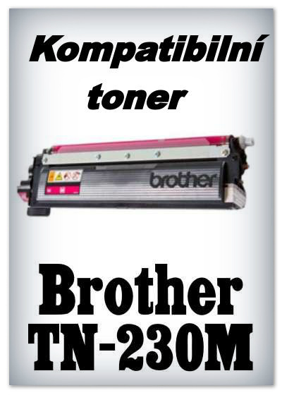 Kompatibilní toner Brother TN-230M - magenta