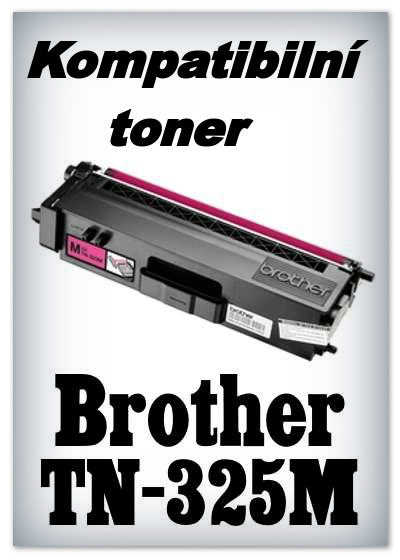 Kompatibilní toner Brother TN-325M - magenta