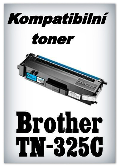 Kompatibilní toner Brother TN-325C - cyan