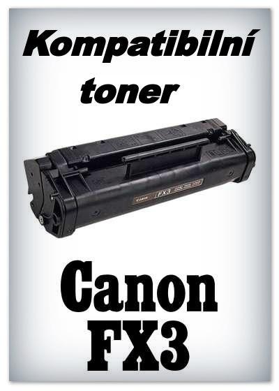 Kompatibilní toner Canon FX3 - black
