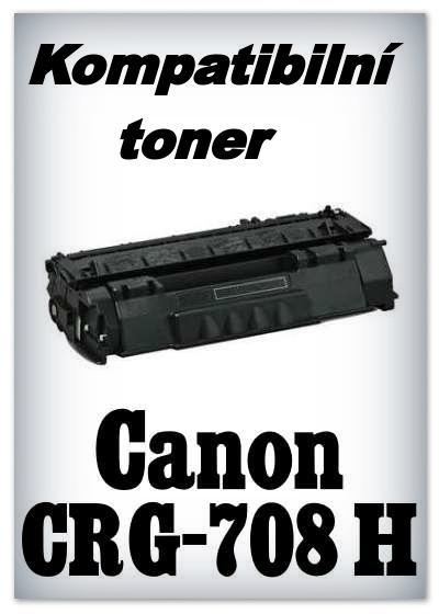 Kompatibilní toner Canon CRG-708 H - black