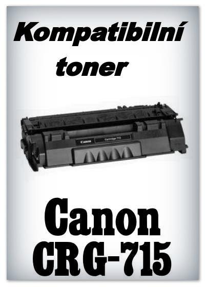 Kompatibilní toner Canon CRG-715 - black