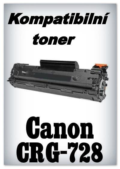 Kompatibilní toner Canon CRG-728 - black
