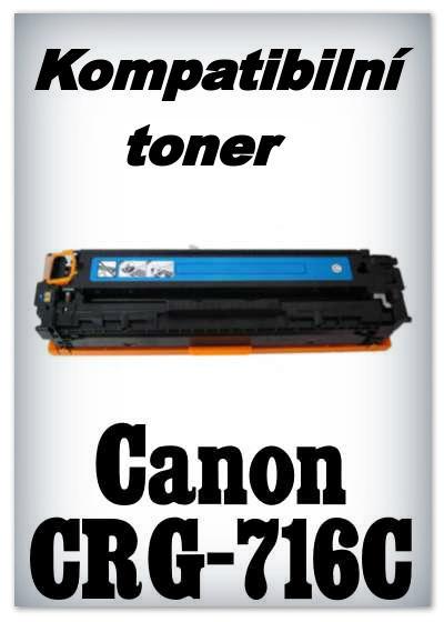 Kompatibilní toner Canon CRG-716C - cyan