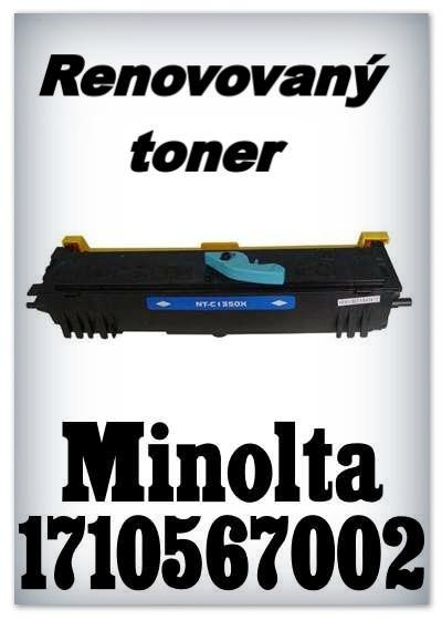 Renovovaný toner Minolta 1710567002 - black