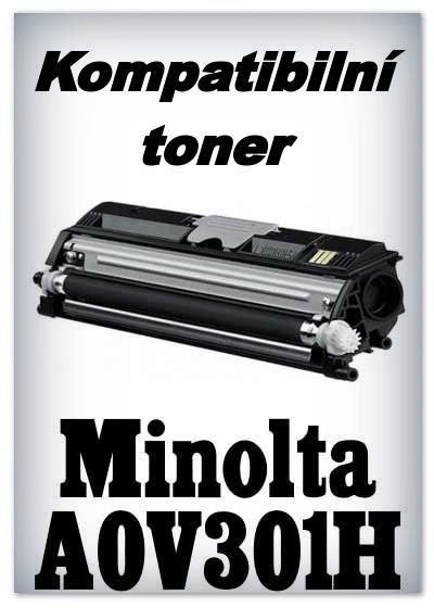 Kompatibilní toner Minolta A0V301H - black