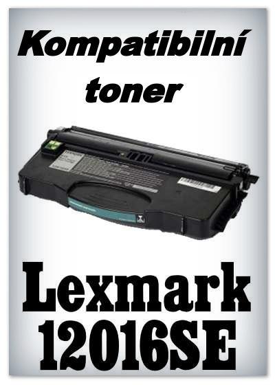 Kompatibilní toner Lexmark 12016SE - black