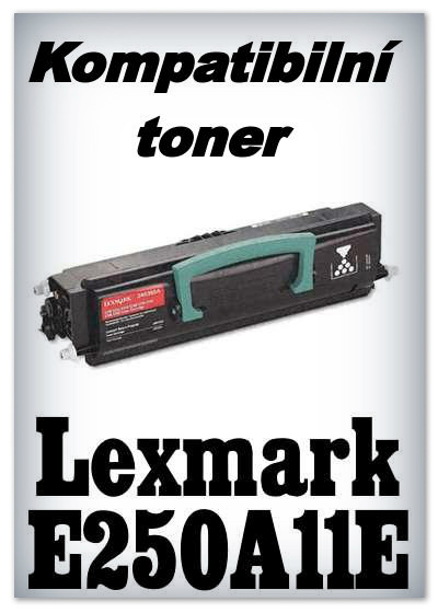 Kompatibilní toner Lexmark E250A11E - black