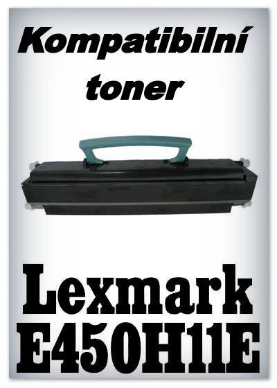 Kompatibilní toner Lexmark E450H11E - black