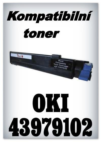 Kompatibilní toner OKI 43979102 - black
