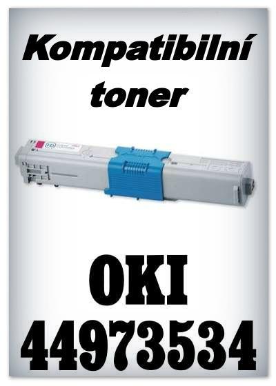 Kompatibilní toner OKI 44973534 - magenta