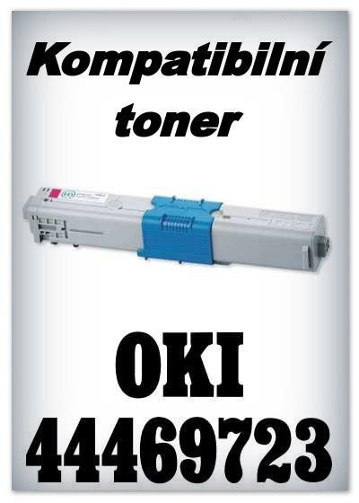 Kompatibilní toner OKI 44469723 - magenta