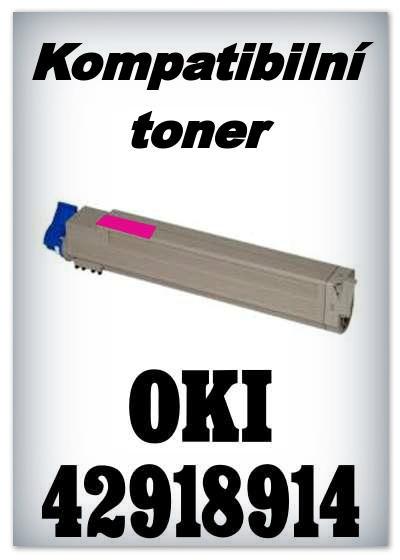 Kompatibilní toner OKI 42918914 - magenta