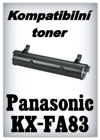 Kompatibilní toner Panasonic KX-FA83 - black