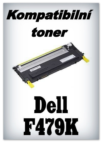 Kompatibilní toner Dell F479K - yellow