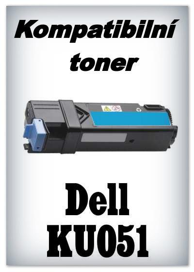 Kompatibilní toner Dell KU051 - cyan