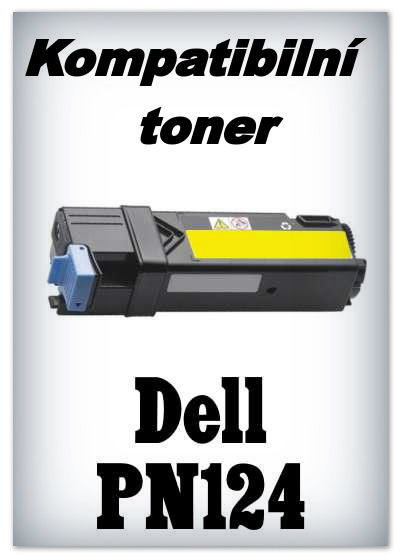 Kompatibilní toner Dell PN124 - yellow