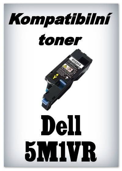 Kompatibilní toner Dell 5M1VR - yellow