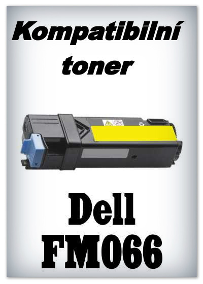 Kompatibilní toner Dell FM066 - yellow