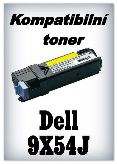 Kompatibilní toner Dell 9X54J - yellow