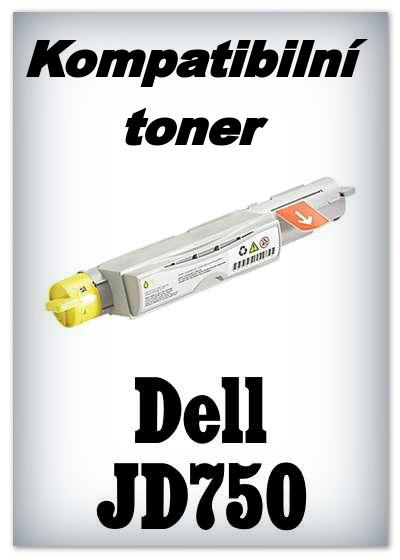 Kompatibilní toner Dell JD750 - yellow