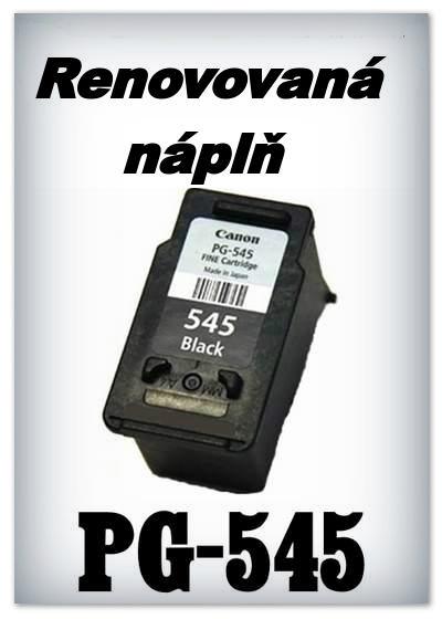 Náplň do tiskárny Canon - PG-545 XL - black - renovované