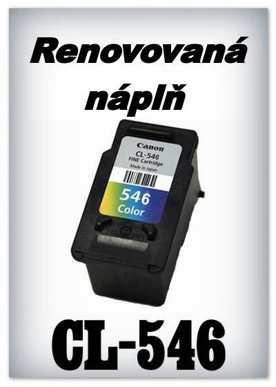 SuperNakup - Náplň do tiskárny Canon - CL-546 XL - color - renovovaná