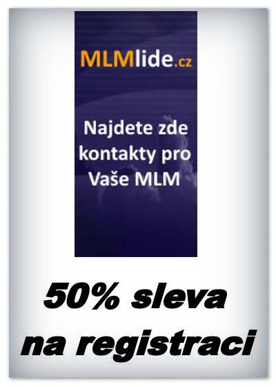 Mlmlide.cz - 50% sleva na registrační poplatek