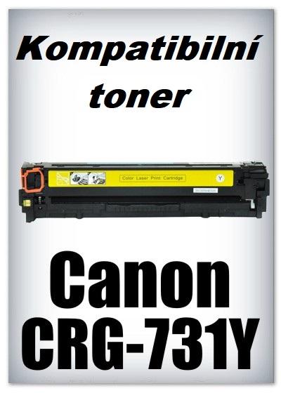 Kompatibilní toner Canon CRG-731Y - yellow