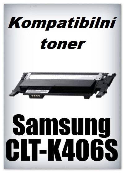 Kompatibilní toner Samsung CLT-K406S - black