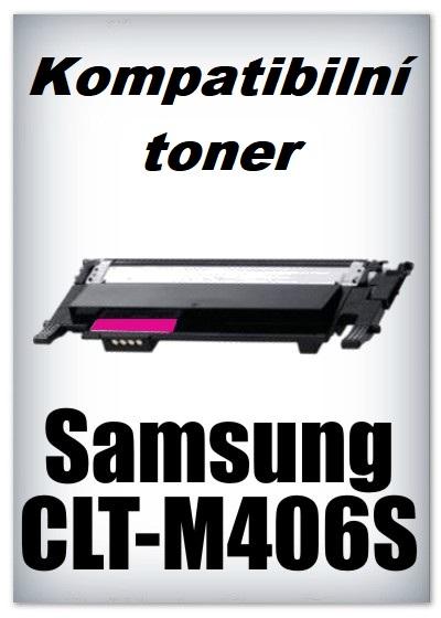 Kompatibilní toner Samsung CLT-M406S - magenta