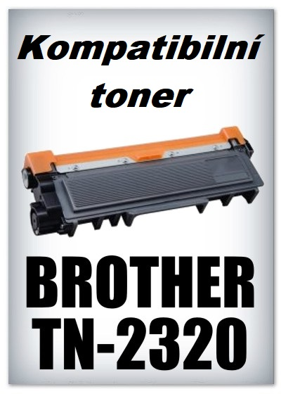 Kompatibilní toner Brother TN-2320 - black